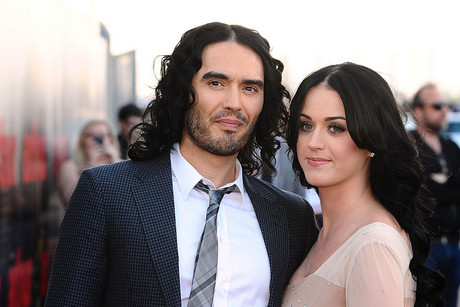 Russell Brand and Katy Perry (AAP)
