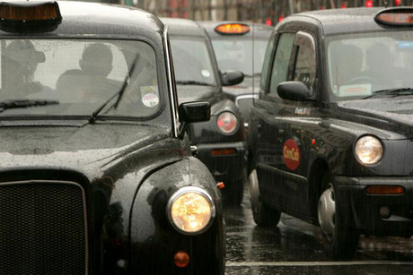 London gets set for a third cabbie protest (file pic)