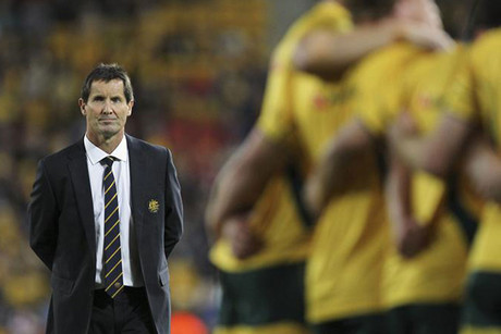 Wallabies' coach Robbie Deans (Reuters file)