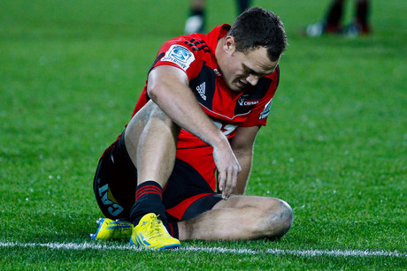 A gutted Israel Dagg after the match