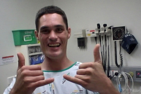 Sean Kenzie has been able to come back to New Zealand to receive more medical treatment