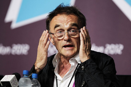 English movie director Danny Boyle, director of the Olympic Games opening ceremony, during a press conference (AAP)