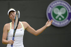 Maria Sharapova shows her devastation and waves goodbye to Wimbledon hopes (Reuters)