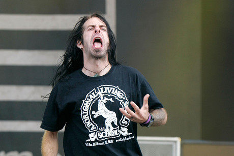 Lamb of God's Randy Blythe (AAP)