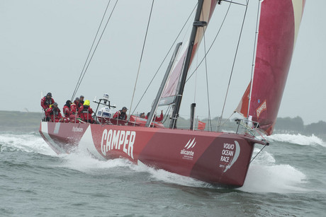 Camper has won the France to Ireland leg of the Volvo Ocean Race (Photosport)