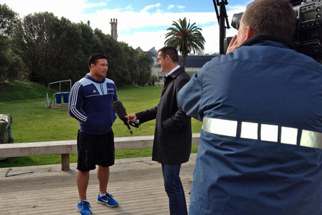 Jim Kayes gets Kevin Mealamu's thoughts on the weekend ahead