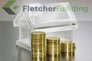 Fletcher Building rose 2.3 per cent to $6.20  (file pic)