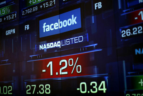 Facebook's stock has fallen since it went public (Reuters)
