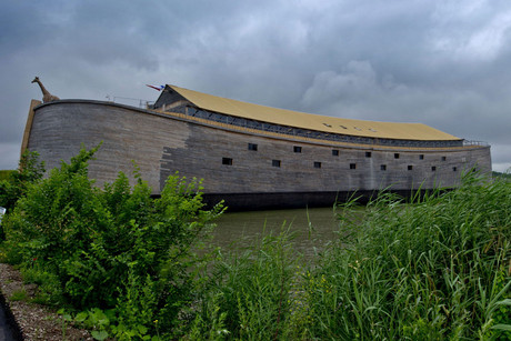 Johan Huibers' interpretation of Noah's Ark (AAP)