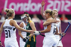 The Black Sticks have beaten South Africa 4-1 on Day 4 of the Olympics (AAP)
