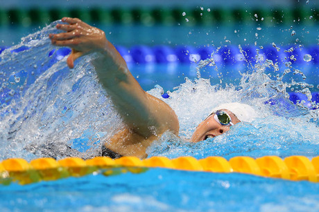 Lauren Boyle will be swimming in the 800m freestyle heat 5 today (Photosport)