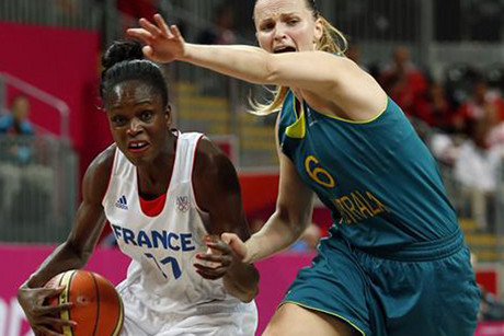 France's guard Emilie Gomis was in sizzling form (Reuters)