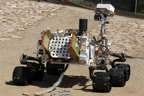 The Curiosity rover (Reuters)
