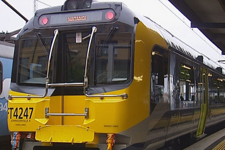 A man has been fatally hit by a train in Lower Hutt (file)