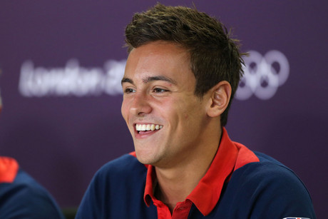 Great Britain's Tom Daley (AAP)