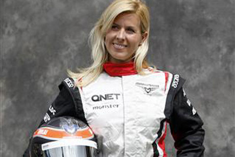 Maria de Villota (Reuters file)