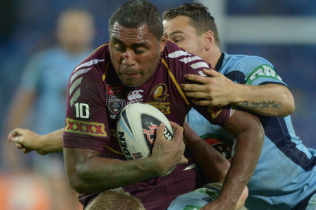 Queensland warhorse Petero Civoniceva bows out for the Maroons, following a brilliant 14-year career (NZN file)