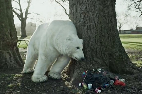 A clip from the 'Save the Arctic' Greenpeace campaign