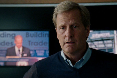 Still from Aaron Sorkin's The Newsroom