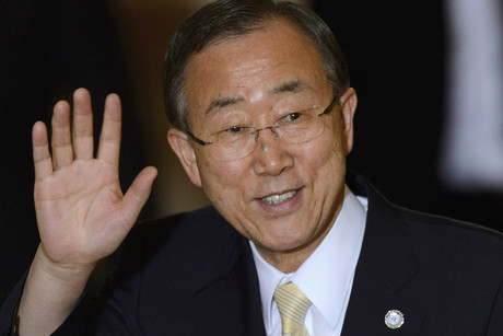 United Nations Secretary-General Ban Ki-moon (AAP)