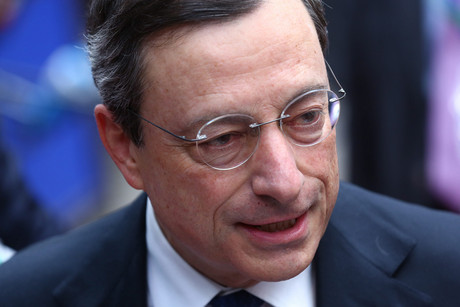 European Central Bank President Mario Draghi (AAP)