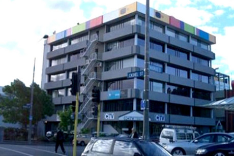 The CTV building collpased in the February quake
