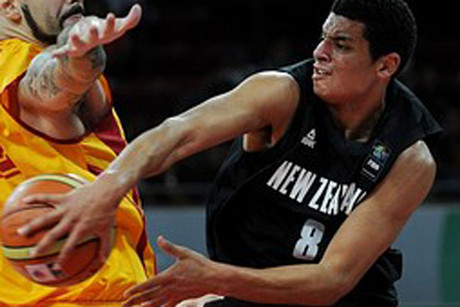 Tai Webster top scored for the Tall Blacks (file pic)