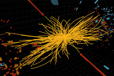 Scientists beleive they may have evidence of the Higgs boson (Photo: CERN)