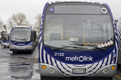 Auckland drivers working for NZ Bus have voted almost unanimously against a new collective agreement (NZPA)