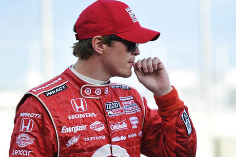 Nervous times for Scott Dixon (Reuters file)