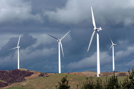 A Meridian Energy windfarm
