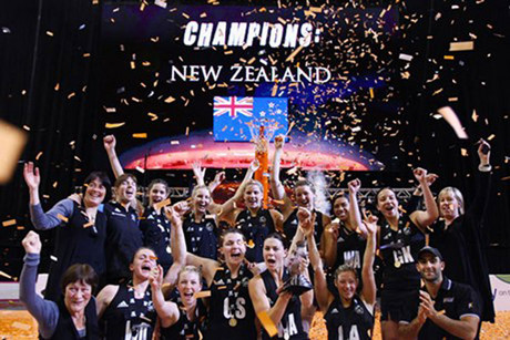 New Zealand won the title in 2010 (file pic)