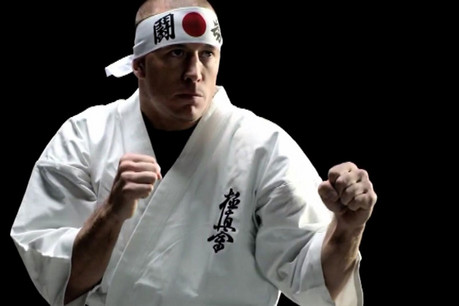 MMA fighter George St. Pierre in the latest Sleeping Dogs trailer