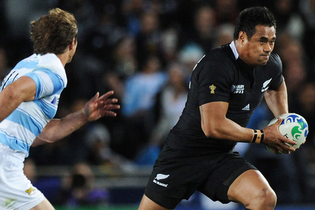 Isaia Toeava against Argentina at the 2011 World Cup (Photosport)