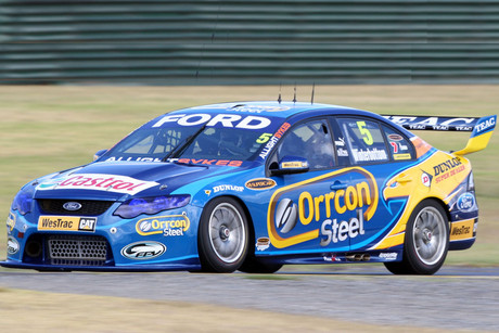 The Ford star snatched pole from teammate David Reynolds (file pic)