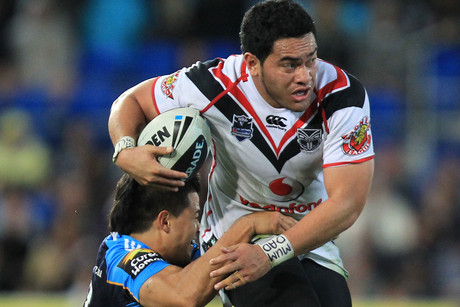 Konrad Hurrell nabbed three tries (NZN)