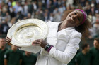 2012 Wimbledon Women's Singles winner Serena Williams (Reuters)
