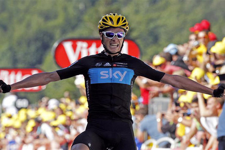 Chris Froome wins the latest stage of the Tour de France (Reuters)
