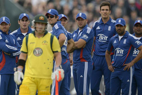 The Enngland cricket team has seen off Australia in the ODI series (Reuters)