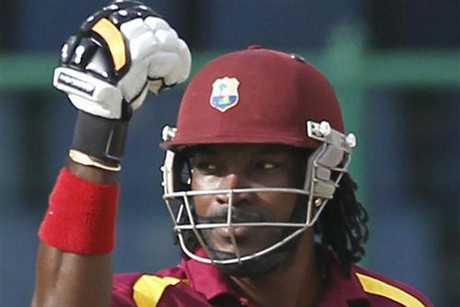 West Indies' Chris Gayle (file pic)