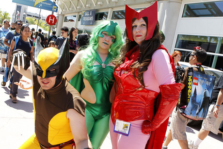 Comic-Con attendees at the 2011 expo
