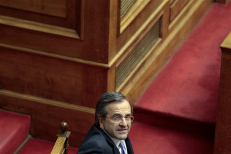 Greece's Prime Minister Antonis Samara (Reuters)