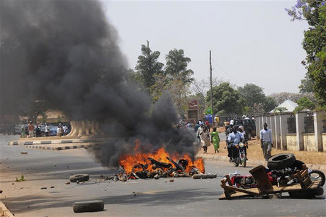 The Nigerian city of Jos was also hit by violence in March of this year (Reuters)
