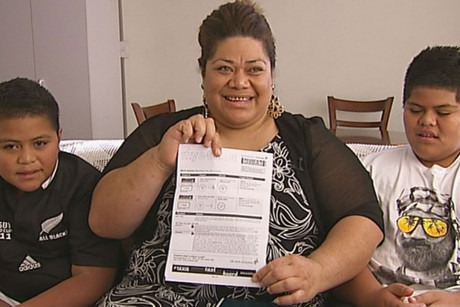 A kind-hearted viewer has paid for Hinemoa Tuionetoa and her two boys to travel to Tonga