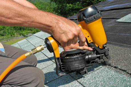Nail guns fall under the same category as bolt or stud guns and under current law
