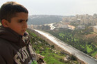 Emad Burnat's son Gibreel in 5 Broken Cameras