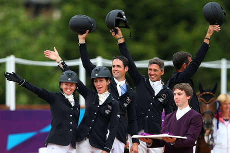 The New Zealand equestrian team (Photosport)