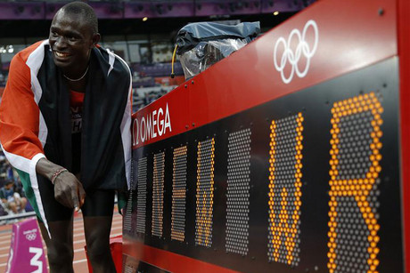 Kenya's David Rudisha has set a new benchmark (Reuters)