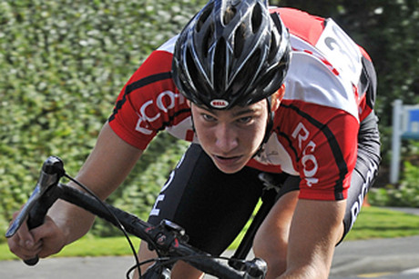 New Zealand cyclist Hayden McCormick (file pic)