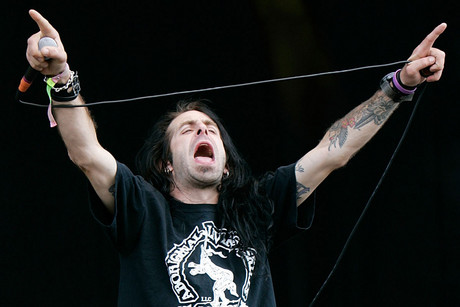 Lamb Of God frontman Randy Blythe in 2010 (AAP)